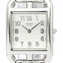 에르메스 스틸 22mm 쿼츠 CC1.210 중고시계