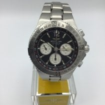 Breitling Hercules Steel 45mm Black No numerals