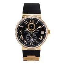 Ulysse Nardin Marine Chronometer 43mm Pозовое золото 43mm Чёрный Россия, Moscow