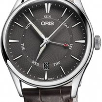 Oris 01 755 7742 4053-07 5 21 65FC Steel 2019 Artelier Pointer Day Date new
