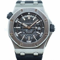 Audemars Piguet Royal Oak Offshore Diver Steel 42mm Black No numerals Singapore, Singapore