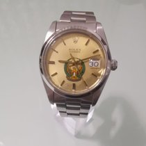 Rolex 6694 Steel 1984 Oyster Precision 34mm pre-owned