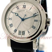 Breguet Marine Automatic Big Date, Silver Dial - Stainless...