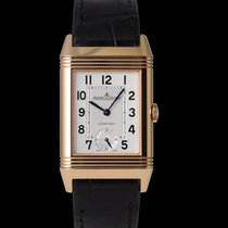Jaeger-LeCoultre Grande Reverso Night & Day Red gold 46mm Silver