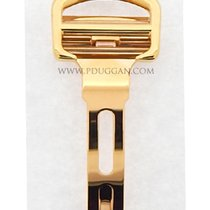 Cartier 18k yellow gold adjustable deployant buckle
