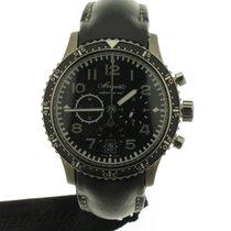 Breguet Type XX - XXI - XXII Titanium 42mm Black Arabic numerals