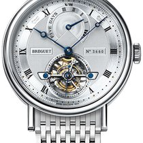 Breguet 5317pt/12/pv0 Platinum 2021 Classique Complications 39mm new United States of America, New York, Airmont