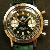 Dreffa vintage diver chronograph Valjoux 92 20 ATM 1960's