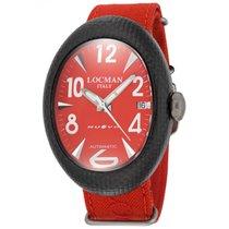 Locman Nuovo Carbonio 101rdcrbq Watch