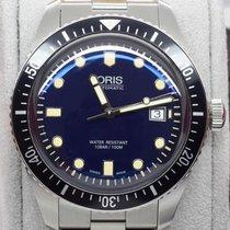 OrisDiver Sixty-Five Blue Dial Automatic 42mm Men's Steel...