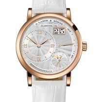 A. Lange & Söhne Rose gold 36.8mm Manual winding 182.030 new