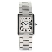 Cartier 3169 Steel Tank Solo 26mm
