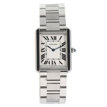 Cartier 3169 Stahl Tank Solo 26mm