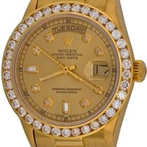 Rolex Day-Date 36 Or jaune 35mm Champagne Sans chiffres