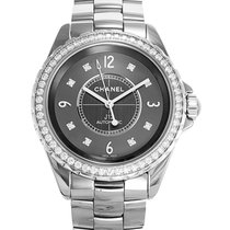 Chanel J12 chromatic Titanium Auto. Diamonds.