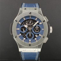 Hublot Big Bang Aero Bang Acciaio 44mm Blu