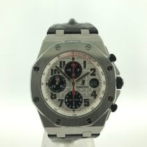 Audemars Piguet Royal Oak Offshore Chronograph Staal 42mm Wit Arabisch Nederland, Velp