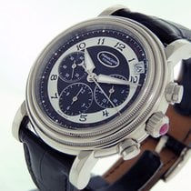 Parmigiani Fleurier White gold Automatic Black Arabic numerals 40mm pre-owned Toric