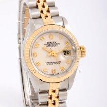 Rolex Lady-Datejust Золото/Cталь 26mm Без цифр