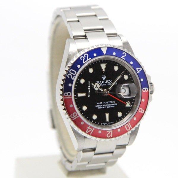 Rolex (ロレックス) GMT マスター II 16710 2006 中古