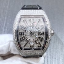 Franck Muller Steel Automatic Arabic numerals 45mm new