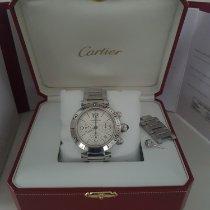Cartier Pasha Seatimer Stahl Weiß Arabisch Deutschland, Wettstetten