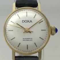 Doxa Yellow gold 21.57mm Manual winding Doxa Lady Vintage 18 K Gold pre-owned