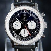 Breitling Navitimer 1 B01 Chronograph 43 rabljen 43mm Crn Kronograf Datum, nadnevak Tahimetar Koza