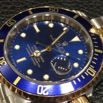 Rolex Submariner Date Ouro/Aço 40mm Azul Sem números Portugal, Lisboa