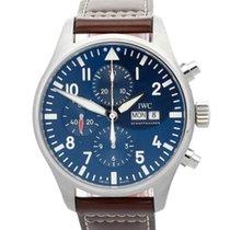 IWC Pilot Chronograph Steel 43mm Blue