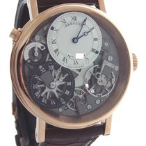 Breguet Rose gold Manual winding Transparent Roman numerals 40mm new Tradition