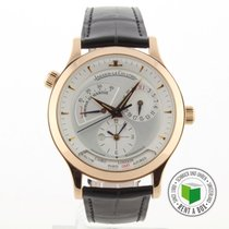 Jaeger-LeCoultre Master Geographic gebraucht 38.5mm Rotgold