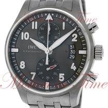 IWC IW387804 Acier Pilot Spitfire Chronograph 43mm nouveau