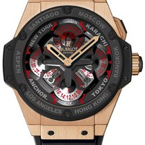 Hublot Big Bang King Power Unico GMT 18K Solid Rose Gold ...