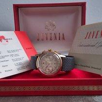 Juvenia vintage gold chronograph full set, very rare