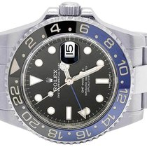 Rolex Mens Stainless Steel Rolex GMT Master II 40 MM 116710...