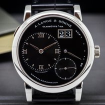 "A. Lange & Söhne 101.035 Lange 1 Platinum Black Dial ""DARTH""..."