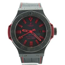 Hublot Big Bang King All Black Red 48mm Mens Watch Limited...