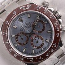 Rolex Daytona 116520 Cosmograph S/Steel 40mm Watch-Ice Blue...