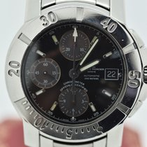 Baume & Mercier Capeland 65352 Chrono Black Stainless Steel...