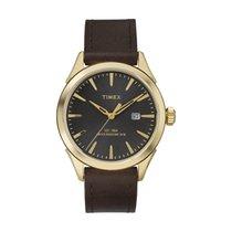 Timex Chesapeake Men's PVD Gold plated Case Quartz Watch...