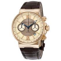 Ulysse Nardin Marine Chronograph 356-66/354 подержанные