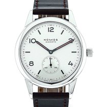 NOMOS Club Automat Steel 40mm White