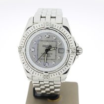 Breitling Cockpit Lady Staal 32mm Parelmoer Geen cijfers