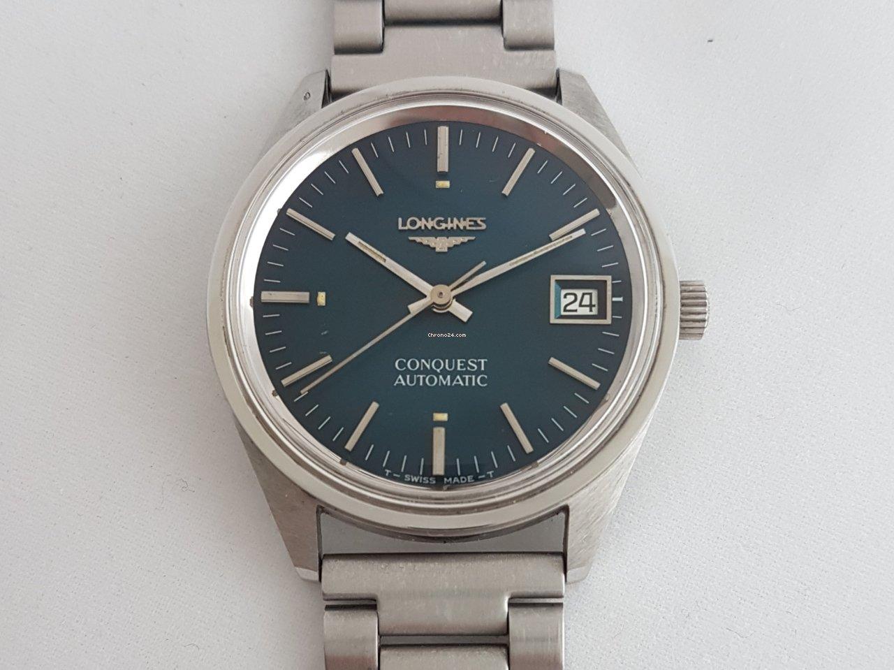 eb4f05ae4ed Longines Conquest Aço - Todos os preços de relógios Longines Conquest Aço na  Chrono24