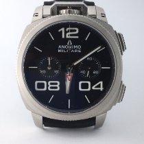 Anonimo Chronograph 43.4mm Automatik neu Militare Schwarz