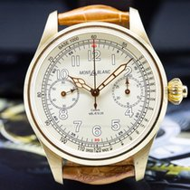 Montblanc Chronograph 44mm Manual winding 1858 Champagne