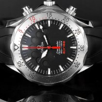 Omega 41.5mm Automatic pre-owned Seamaster (Submodel) Black