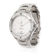 TAG Heuer Link Calibre 5 Steel 42mm Silver United States of America, New York, New York