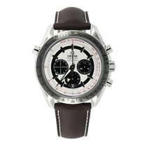 Omega Speedmaster Broad Arrow Steel 44.25mm Silver No numerals United States of America, Connecticut, Greenwich